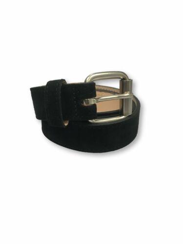 Edwin Ruben belt in black suede M