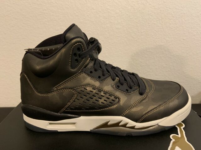 świetne ceny Nowa lista urzędnik AIR JORDAN 5 RETRO 'HEIRESS' METALLIC CAMO/ BLACK LIGHT BONE 919710-030 Sz  8.5Y