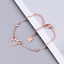 Details about  /18K Rose Gold Stainless Steel CZ Anklet Foot Mouse Charms Ankle Bracelet PE13