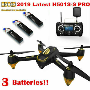 Hubsan X4 H501S S Pro Drone 5.8G FPV Brushless Quadcopter...