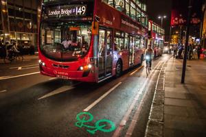 Faro delantero de cabeza de la Bicicleta Ciclismo Bici-Beryl Blaze LED Laserlight-Nuevo