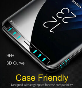 For-Samsung-Galaxy-S8-S9-Note-10-9-S10-Case-Real-Tempered-Glass-Screen-Protector
