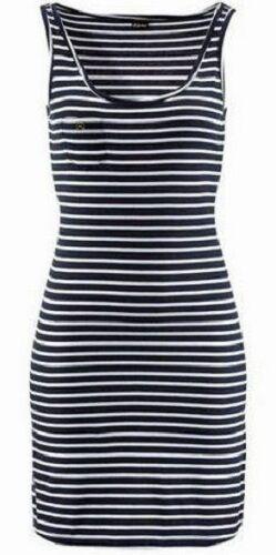 Süsses Kleid  Gr. 44 Strandkleid 349239 Marine-Look NEU