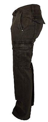 Camel Active Cargo pantalon,Jeans Homme régulaire, Coton marron W30 - 33 L32,34