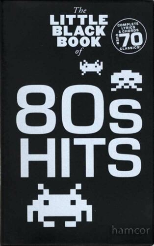 80s Hits The Little Black Songbook Guitar Chords /& Lyrics Music Song Book