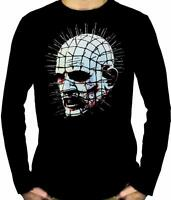 Pinhead Hellraiser Long Sleeve T-shirt Clive Barker Horror Cenobite Angel Demon