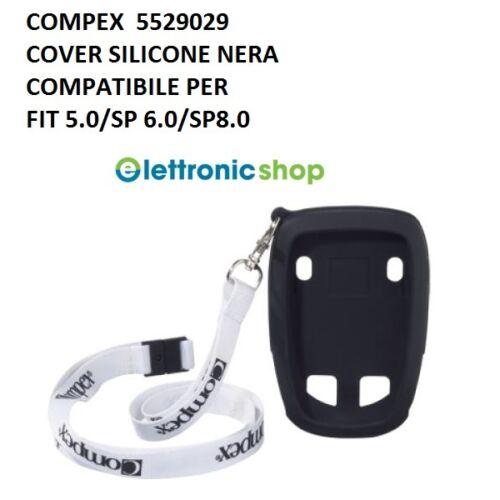 COMPEX CUSTODIA SILICONE NERA PER MODELLI FIT 5.0 SP 8.0 COD.5529029 SP 6.0