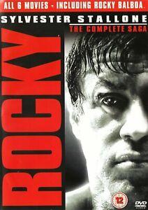 Rocky-1-6-The-Complete-Saga-6-dvd-disc-set-Sylvester-Stallone