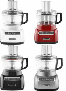 KitchenAid RKFP0711 7 Cup Food Processor Adjustable slicing disc Wide Mouth Feed