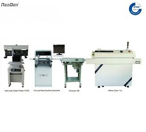 SAVE-800-SMT-Pick-and-Place-Machine-Auto-Solder-Printer-Reflow-Oven-Conveyor