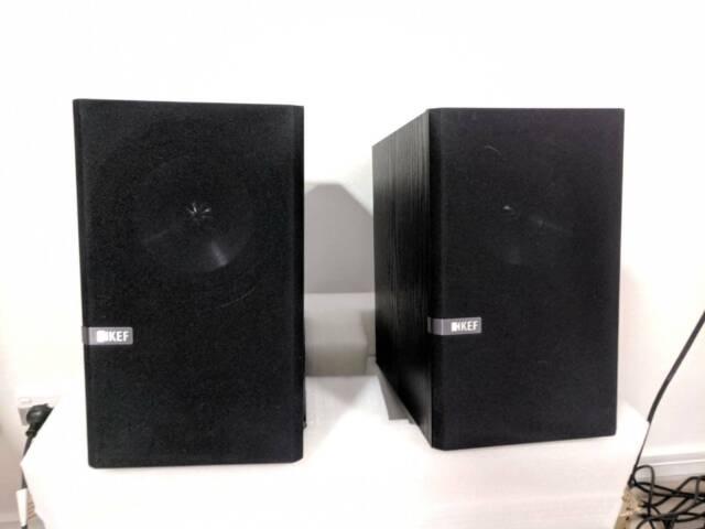 Kef Q100 speakers - black pair - excellent condition