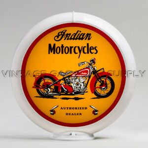 "G429 Motorcycle 13.5/"" Gas Pump Globe Indian M.C"