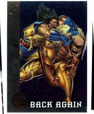 Back Again #89 Fleer Ultra X-Men Chrome Trade Card (C291)