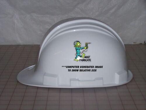 3 Must Fabricate Zombie Welder Lunch Box Oilfield Toolbox Helmet Sticker H231