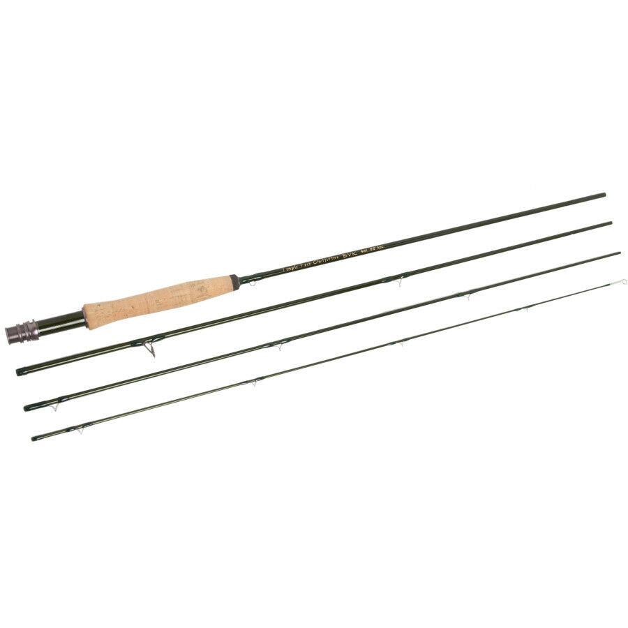 NEW TFO TEMPLE FORK OUTFITTERS BVK TF04104B 10' WEIGHT 4 PIECE FLY ROD +BAG