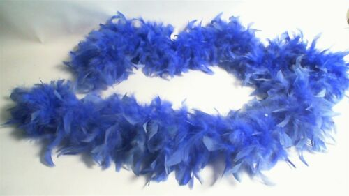 Bright Blue Feather Bower 2.2M Fancydress//Hen do//Party  #14D484