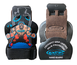 NEW CROSS FITNESS //GYMNASTIC LEATHER PALM PROTECTOR HAND GUARD GRIP WOD