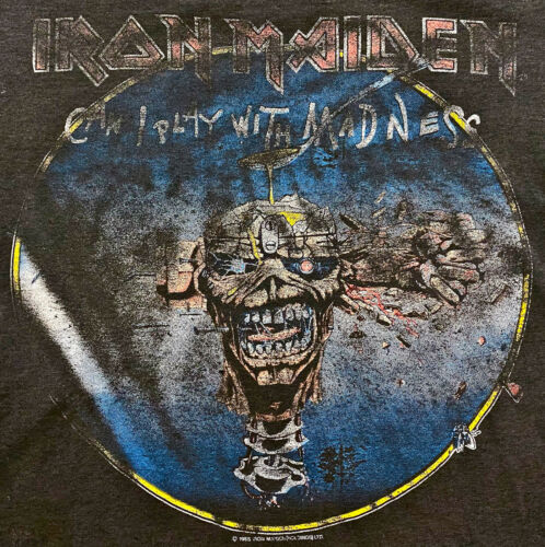 Vintage 80s 1988 IRON MAIDEN Seventh Son Rock Con… - image 1