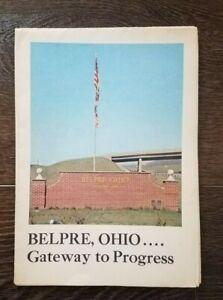 Vintage Belpre Ohio Map Little Hocking Porterfield 1976 Shell Chemical
