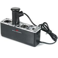 12v 3 Way Car Cigarette Lighter Power Socket Charger Adapter & USB Port Chargers