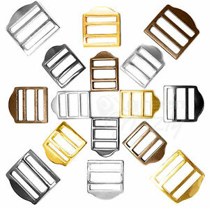 Molded-solid-cast-adjuster-slide-buckles-strap-suspender-webbing-glide-ladder