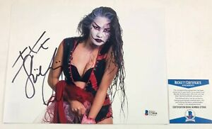 TNA-Impact-Wrestling-Su-Yung-Autographed-8x10-Photo-Signed-WWE-NXT-Beckett-COA