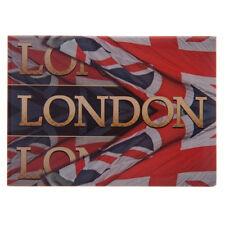 LONDON METAL FRIDGE MAGNET Union Jack Flag, Ted Smith Design