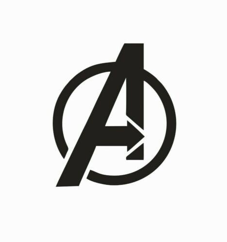 Avengers Superhero Marvel Comic Vinyl Die Cut Car Decal Sticker FREE SHIPPING