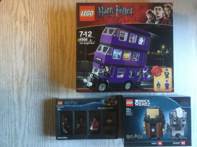 Lego Harry Potter, Lego Harry Potter lot, sælges samlet,…