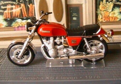Moto bike yamaha xs eleven 1978 ixo altaya 1//24 1100 cc