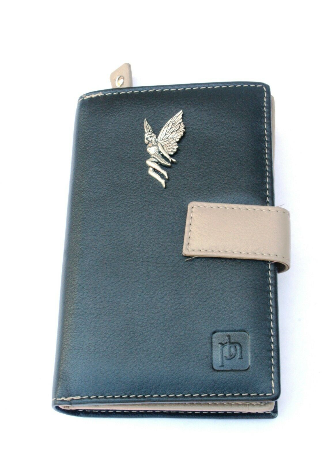 Leaf Fairy Design Leather Purse with Zipped Pocket RFID Safe Women's 121