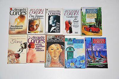 Bücherpaket: 10x Alexandra Cordes, Die Lady, Am Tag nach den Flitterwochen,....