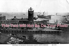 NO 63 - North Shields Fish Quay & Harbour, Northumberland - 6x4 Photo