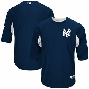 ee27575943d Image is loading NEW-YORK-YANKEES-MAJESTIC-NAVY-HOME-AUTHENTIC-BATTING-