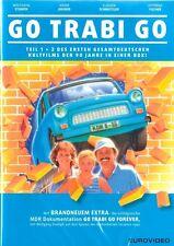 GO TRABI GO I + II (Wolfgang Stumph, Marie Gruber, Ottfried Fischer) 2 DVDs NEU