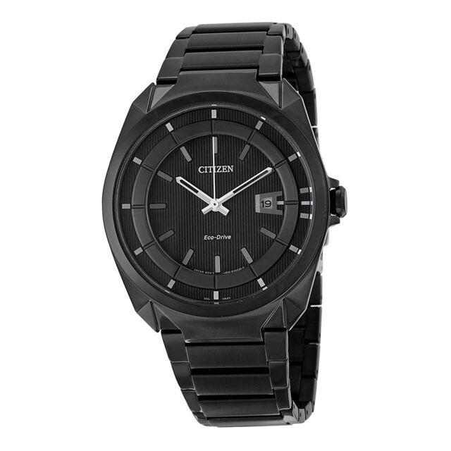 Citizen Eco Drive Black Dial Chronograph Mens Watch AW1018-55E