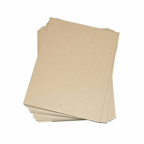 Chipboard Sheets Crafting pads 8.5x11 12x12 11x17 Pick Size Thickness Quantity