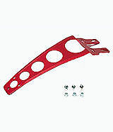 New Aluminium Universal Front Fender Mudguard Brace Stay Support  Red  EVO