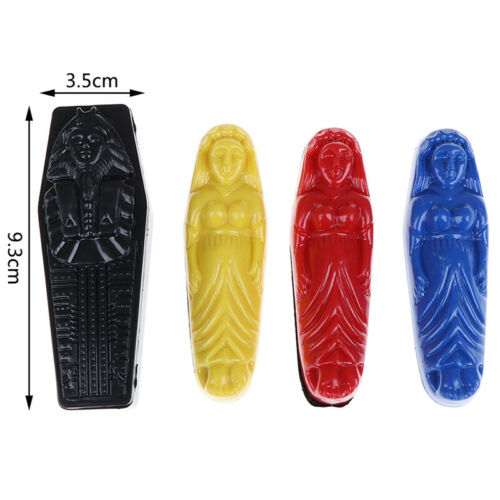 Mummy Prediction Magic Tricks Plastic Mystery Box Close Up Magic PR TBO