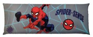 """Marvel Spider-Man Body Pillow Cover 20/"""" x 54/"""" Super Soft Multi Colored **NEW**"""