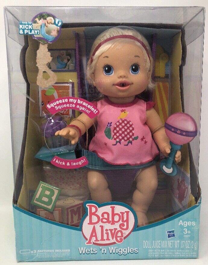 Hasbro Baby Alive siempre moja 'n Wiggles Conjunto De Muñeca Rubia