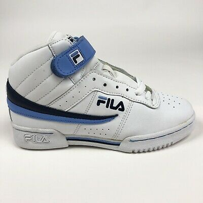 Fila F 13 Womens White Blue Mid Shoes Size 6.5 Retro 51F129LT 159 | eBay