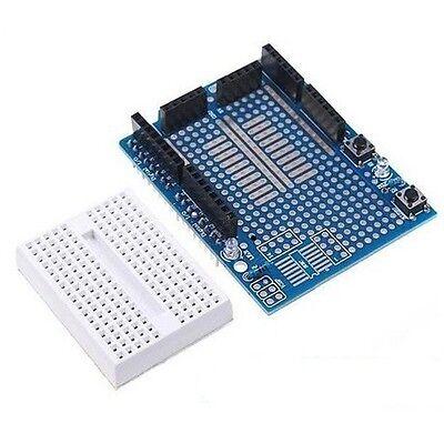 Arduino UNO Shield Prototyping Prototype Shield ProtoShield Mini Breadboard