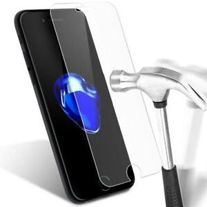 PROTECTION ECRAN POUR IPHONE 7 6 5 4 VERRE TREMPE PROTÈGE GLASS SCREEN PROTECTOR