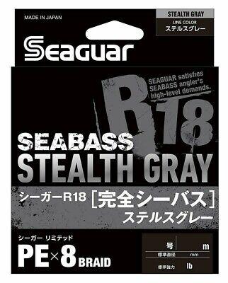 0,20 EUR//M Seaguar R18 Seabass 150m PE8 Braided Japan Cord