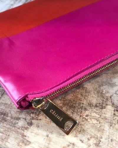 Pink Orange Pink Pochette Celine Celine Orange Colorblock Pochette Colorblock pXHqTx