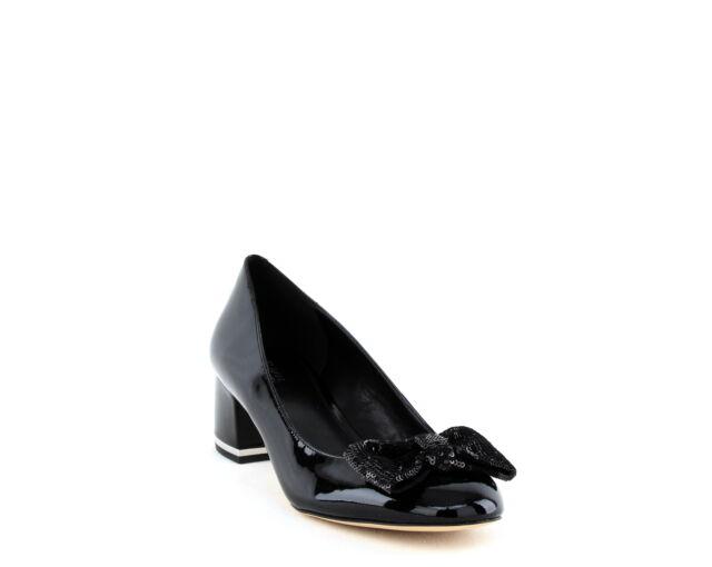 Shoes Michael Kors Paris Black Mid Pump