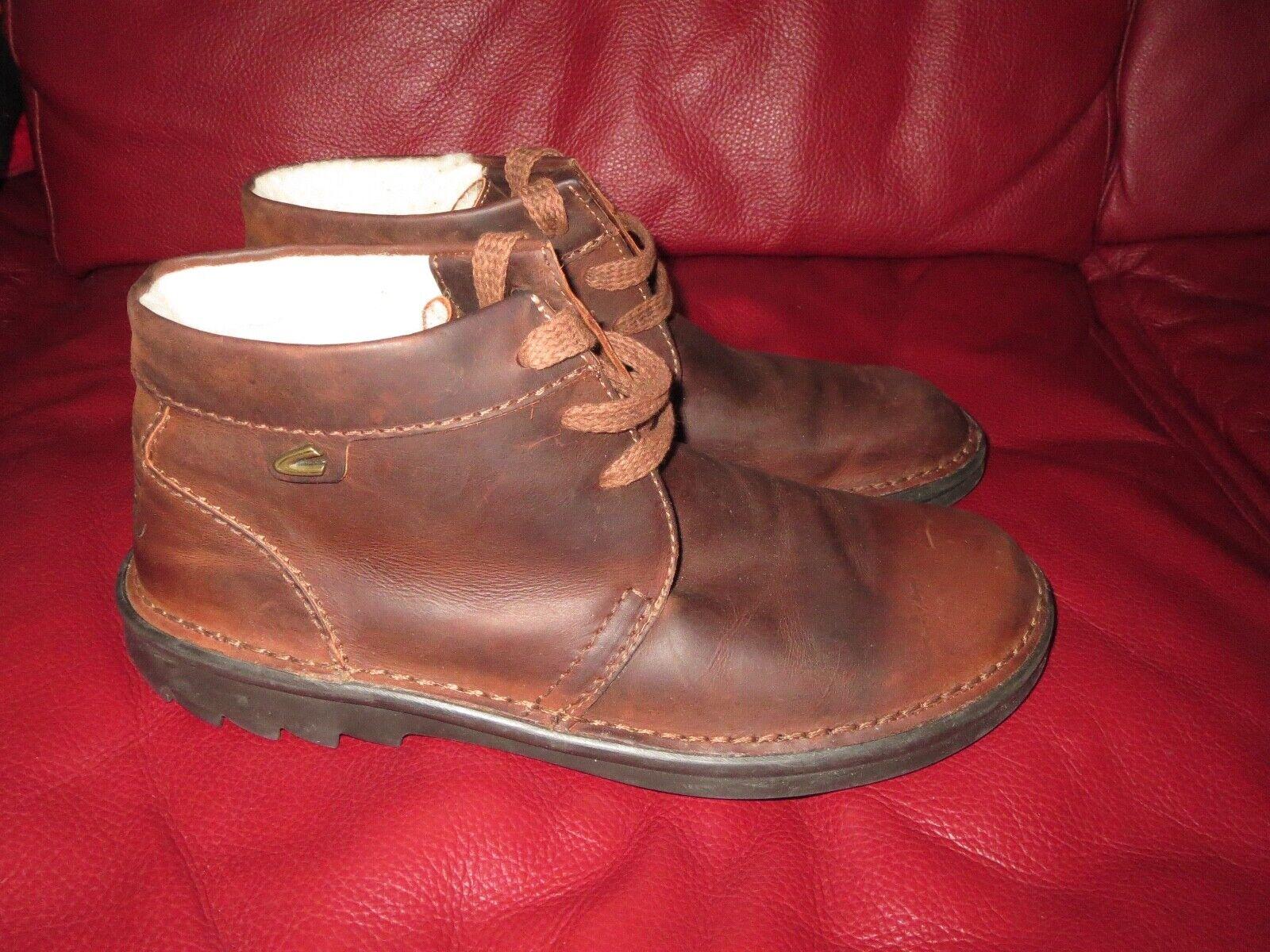 Details zu Rieker Schuhe braun Nubuk Leder Klettverschluss komfort Herren