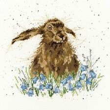 BOTHY THREADS BRIGHT EYES CROSS STITCH KIT RABBIT - NEW XHD1