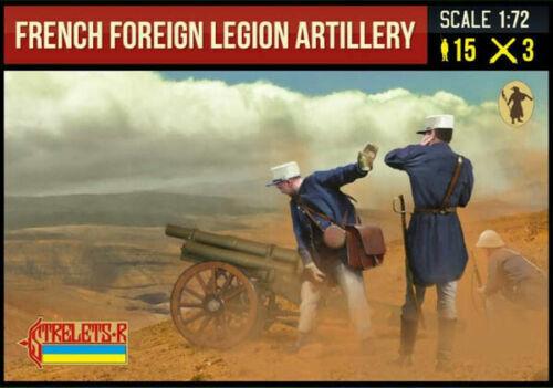 Soldatini 1//72 French Foreign Legion Artillery STRELETS 290